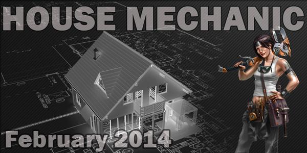 house mechanic february 2014